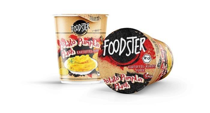 LOGO_FOODSTER Potato Pumpkin Mash in Bio-Qualität
