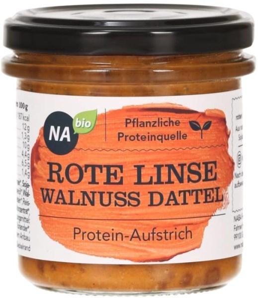 LOGO_NAbio Protein-Aufstrich Rote Linse Walnuss Dattel