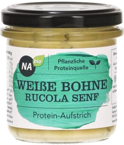 LOGO_NAbio Protein-Aufstrich Weiße Bohne Rucola Senf