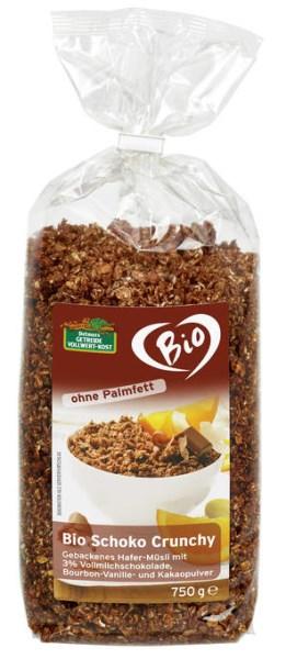 LOGO_Bio Schoko Crunchy 750 g Ohne Palmfett