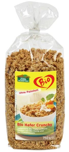 LOGO_Bio Hafer Crunchy 750 g Ohne Palmfett