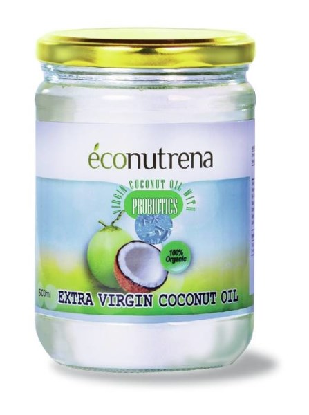LOGO_Organic Virgin Coconut Oil with Probiotics