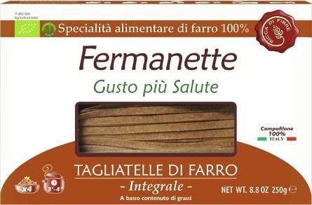 LOGO_Fermanette 100% organic spelt tagliatelle