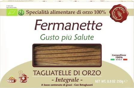 LOGO_Fermanette 100% organic barley tagliatelle
