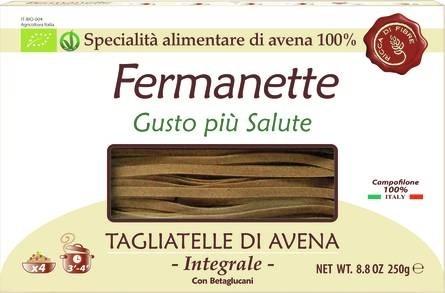 LOGO_Fermanette 100% organic oat tagliatelle