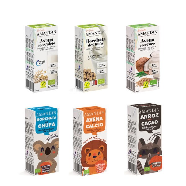 LOGO_Pflanzendrinks in Portionsverpackung. Ready to drink! NEUES FORMAT 200 ML