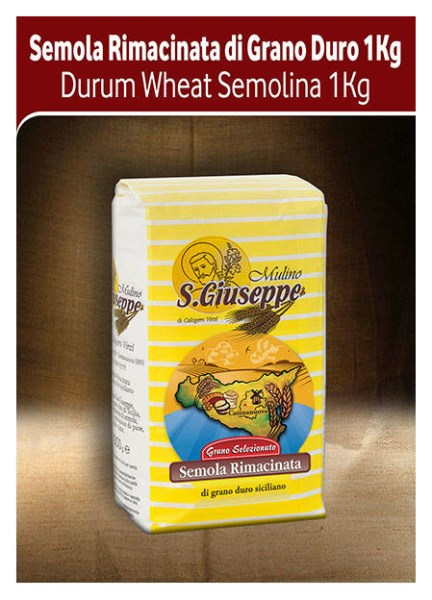 LOGO_Durum Wheat Semolina 1 kg