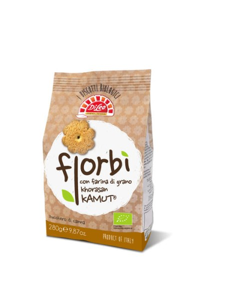 LOGO_Fiorbì organic biscuits with khorasan Kamut® wheat flour.