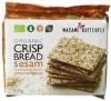 "LOGO_Organic Wholegrain Crispbread ""Sesam""."
