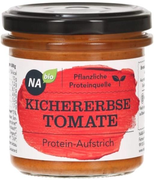 LOGO_NAbio Protein-Aufstrich Kichererbse Tomate