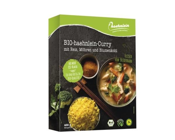 LOGO_Bio-haehnlein Curry with rice and broccoli