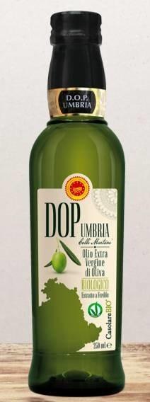 LOGO_100% italian extra virgin olive oil - PDO Umbria (Colli Martani)
