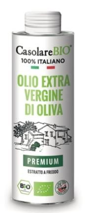 LOGO_100% italienisches Olivenöl nativ extra 500ml
