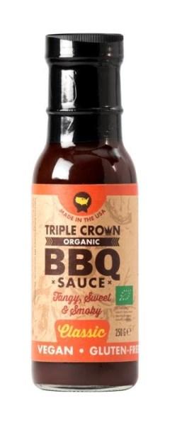 LOGO_Triple Crown Bio, Veganz & Glutenfrei BBQ sauce - CLASSIC