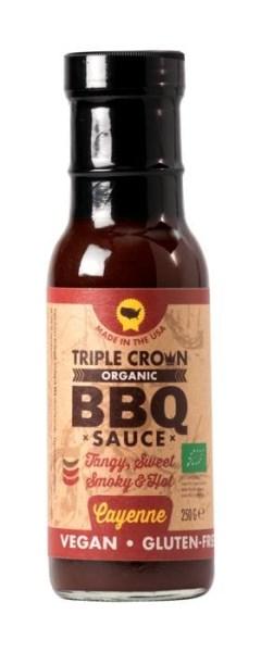 LOGO_Triple Crown Bio, Veganz & Glutenfrei BBQ sauce - CAYENNE