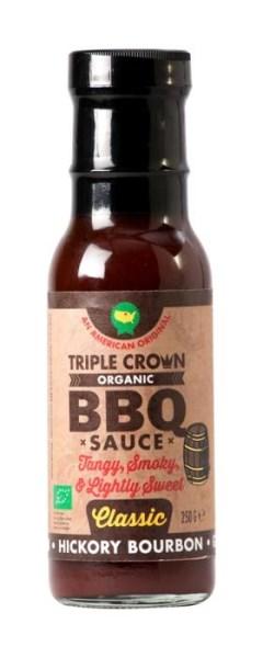 LOGO_Triple Crown Bio, Veganz & Glutenfrei BBQ sauce - HICKORY BOURBON