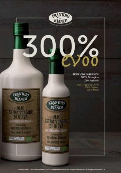LOGO_Organic Extra virgin olive oil 100% Italian 100% Monocultivar taggiasca