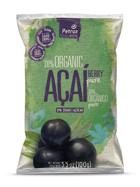 LOGO_100% pure organic Acai 100g