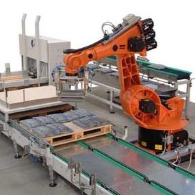 LOGO_6-Achs-Roboter mit Palettentransport