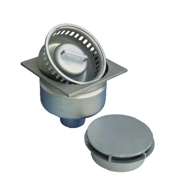 LOGO_WALDNER Stainless steel Floor Drain