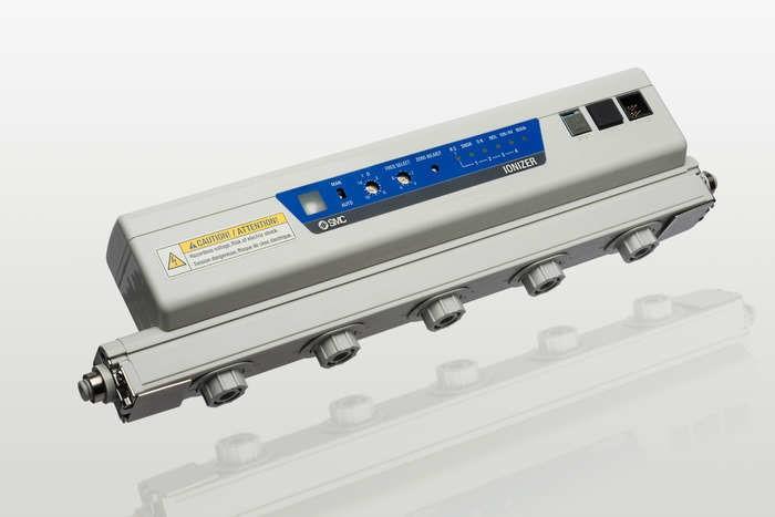 LOGO_Neue Ionisierermodelle ermöglichen schnelleren Abbau statischer Elektrizität