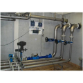 LOGO_Installation of air ventilation / deaeration and several stainless steel products for drinking water plants