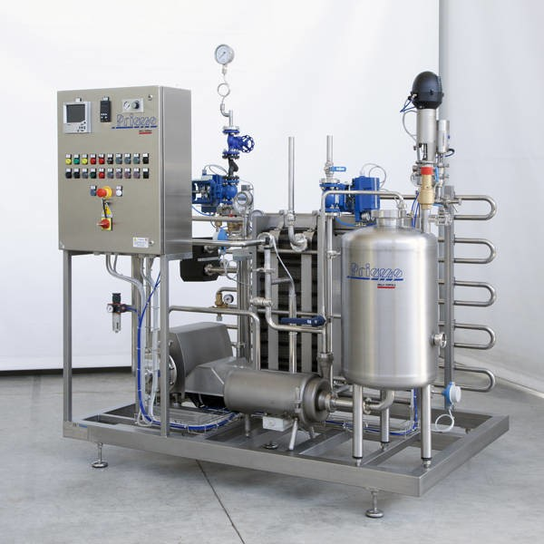 LOGO_HEAT TREATMENT PLANTS FOR: THE BEVERAGE, THE MILK-DAIRY, THE CHEMICAL, PHARMACEUTICAL AND COSMETIC SECTORS