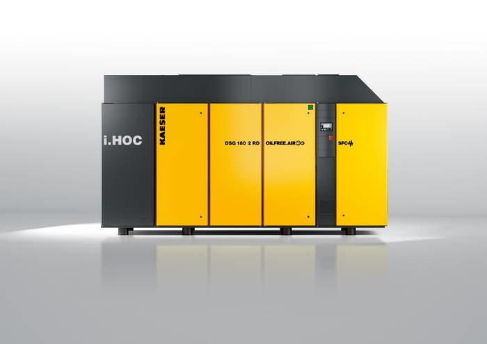 LOGO_i.HOC celebrates world premiere: Efficient compressed air production with full-flow regeneration