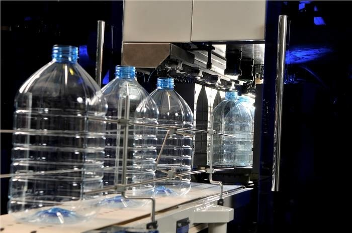 LOGO_Automatische Streckblasmaschienen für 3,0-30,0 Liter PET-Flaschenproduktion