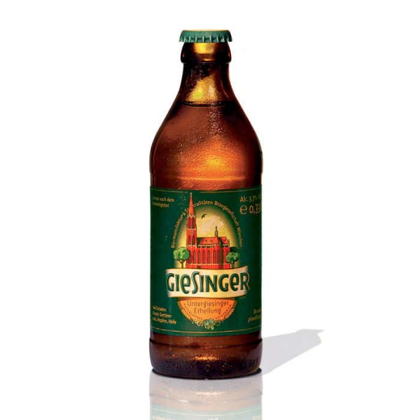 "LOGO_330 ml Euro Bottle ""Giesinger"""