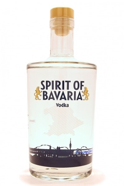 "LOGO_9000 ml Vodka Flasche ""Spirit of Bavaria"""