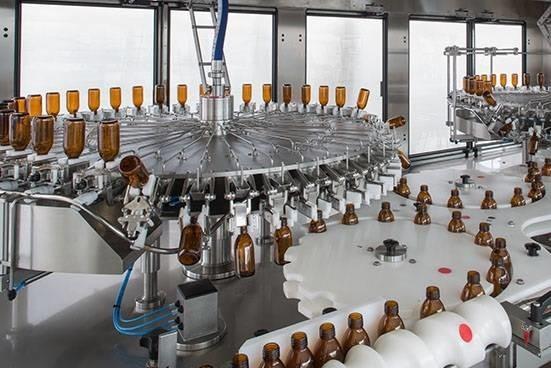 LOGO_RINSER-BLOWER EVOLUTION plastic/glass bottles, pharmaceutical sector