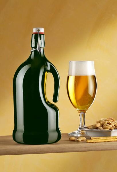 LOGO_Glasflaschen mit Bügelverschlußmündung