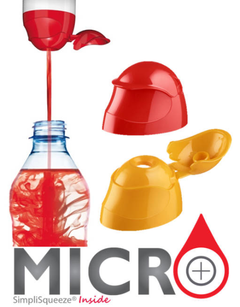 LOGO_Micro, new SimpliSqueeze® valve solution for the water enhancer segment