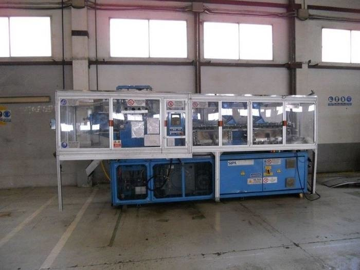 LOGO_Used Stretch blow forming machines, combined preform and stretch blow forming machines