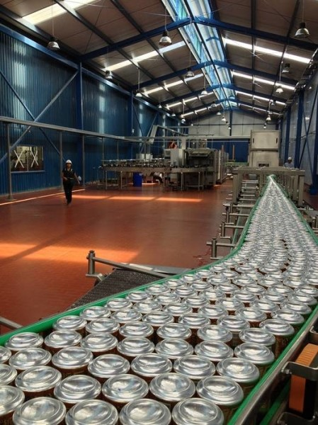 LOGO_Flooring system for canned beer