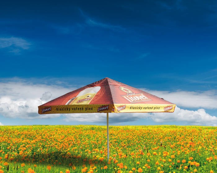 LOGO_Telescopic parasols GASTRO