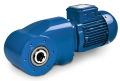 LOGO_BK17 Helical Bevel Geared Motor in Standard Design