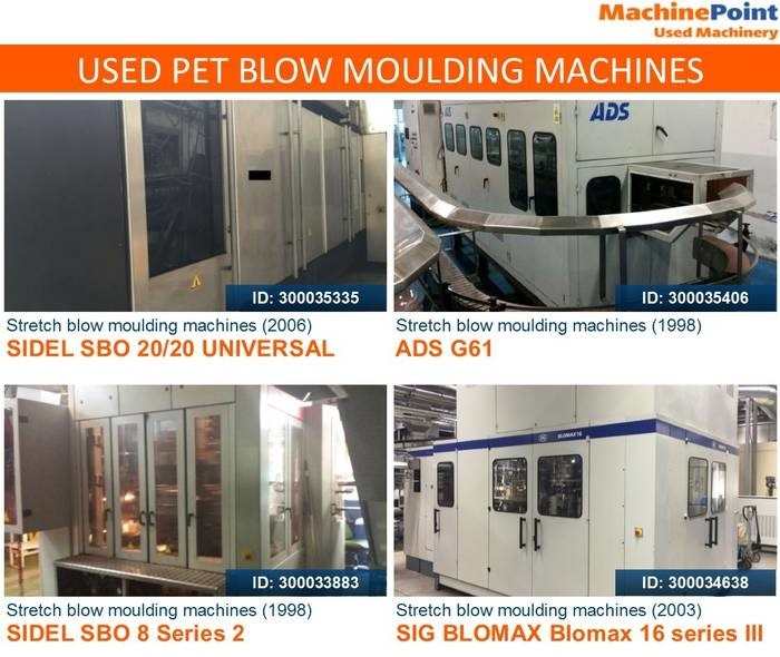 LOGO_Used Blow Moulding Machinery for PET