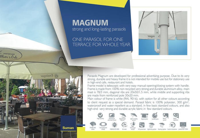 LOGO_MAGNUM  - strong and long – lasting parasols