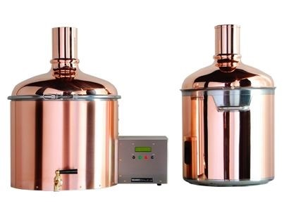 LOGO_BrauEule II Starter Set with copper finished mash and lautering tun