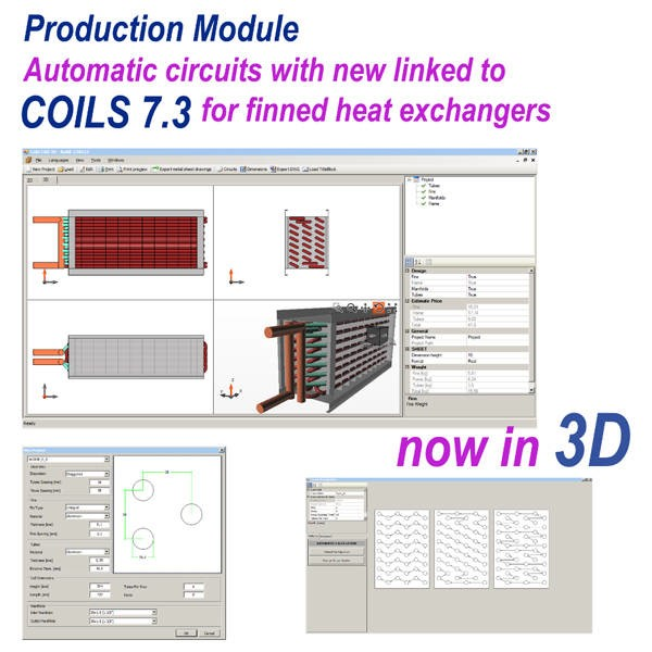 LOGO_COILS Software for the design and rating of finned heat exchangers