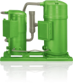 LOGO_BITZER Advanced Header Technology (BAHT) for scroll compressor tandems and trios