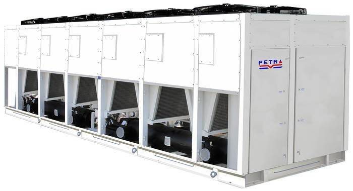 LOGO_Air Cooled water chiller With Hermetic scroll compressors (PSC4-70)