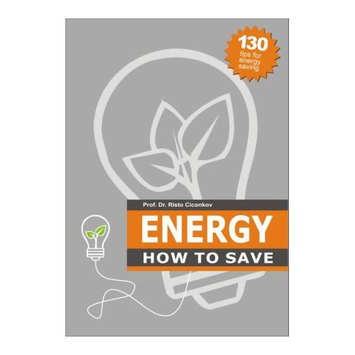 "LOGO_""Energy - How to Save"" (unique book), Author Prof. Dr. Risto Ciconkov"