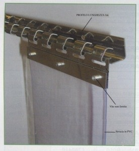 LOGO_Inox Support System for the Strip Curtains