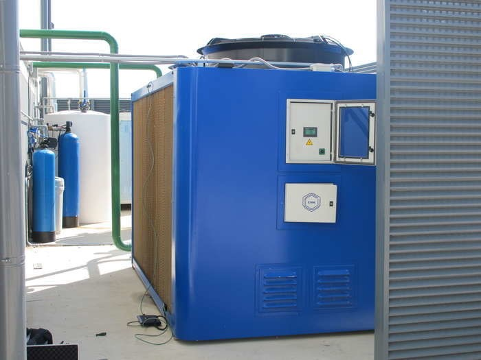 LOGO_EWK-A, geschlossener adiabatischer Rückkühler