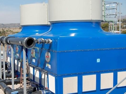 LOGO_EWK, Kühlturm für offenen Kühlkreislauf mit Axial-Ventilator