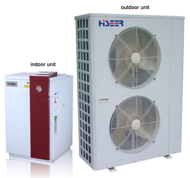 LOGO_Split EVI DC Inverter Air Source Heat Pump AS18VF/L