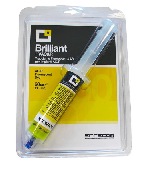 LOGO_BRILLIANT - Fluorescent UV Leak Detector Dye for A/C and Refrigeration Systems